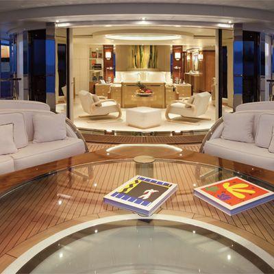 Sycara V Yacht Sundeck - Sunset