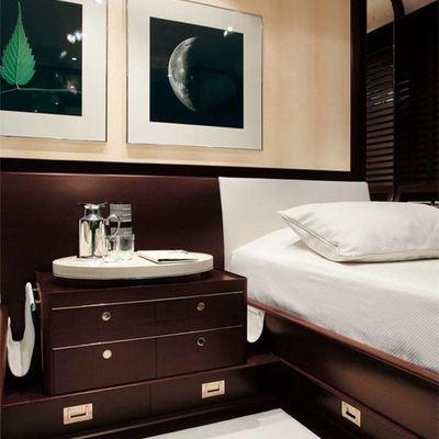Parsifal III Yacht Twin Stateroom
