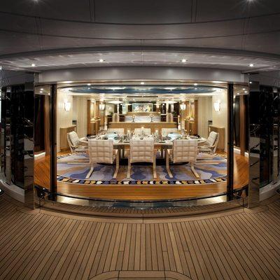 Sycara V Yacht Internal External Dining