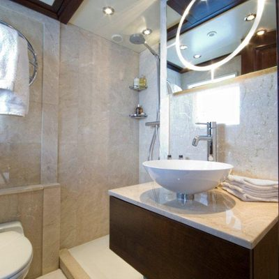 Accama Yacht Top Deck Bathroom
