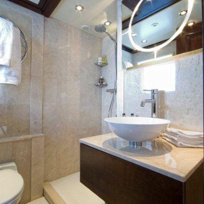Accama Yacht Top Deck Bathroom