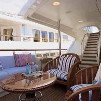 Jo Yacht Upper aft deck