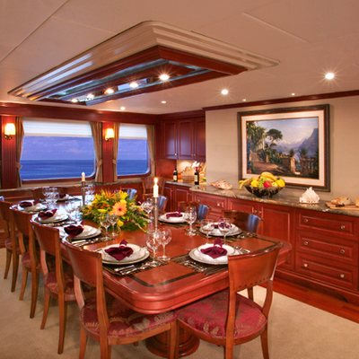 Stargazer Yacht Dining Salon
