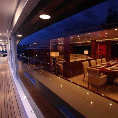 Harmony III Yacht Terrace Looking In