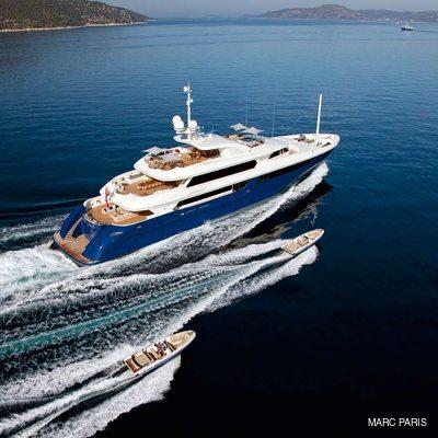 Mary-Jean II Yacht Tenders Alongside