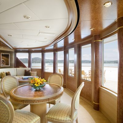 Laurel Yacht Starboard Observation Lounge on Sun Deck