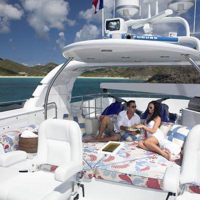 Nicole Evelyn Yacht Sundeck Lounge