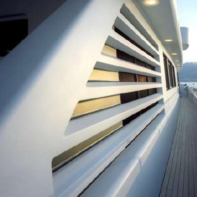Mariu Yacht Exterior Detail