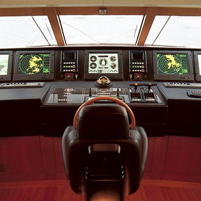 Kintaro Yacht Pilothouse