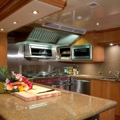 Amarula Sun Yacht Galley