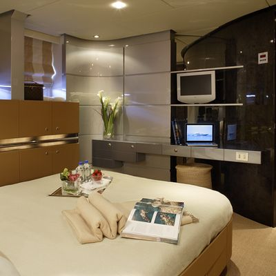 Pandion Yacht Guest Stateroom - View