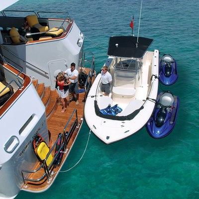 Lady J Yacht Swim Platform