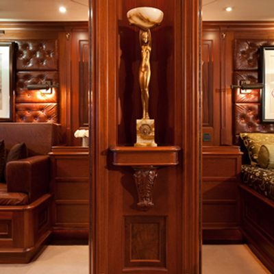Tiara Yacht VIP suite front view