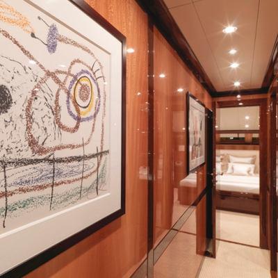 Kadimo's Yacht Hallway
