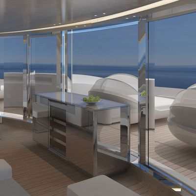 Nautilus Yacht Additional Seating Attached To The Wellness Deck