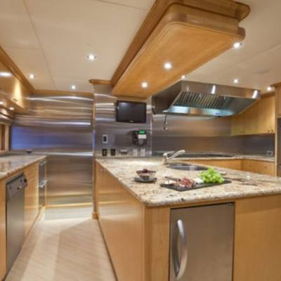 Wheels Yacht Galley