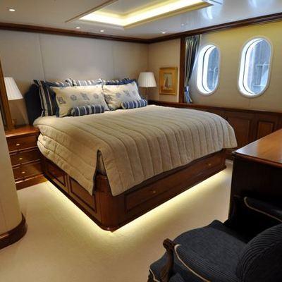 Lady Kathryn V Yacht Guest Stateroom