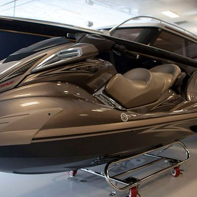 Aquila Yacht Jet Skis Stored