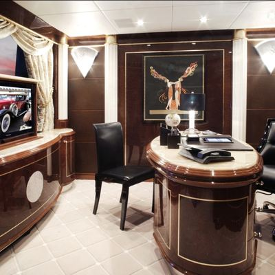 Diamonds Are Forever Yacht Office
