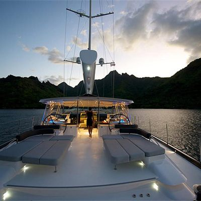 Bliss Yacht Deck - Night