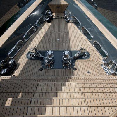 Ocean Emerald Yacht Deck Detail