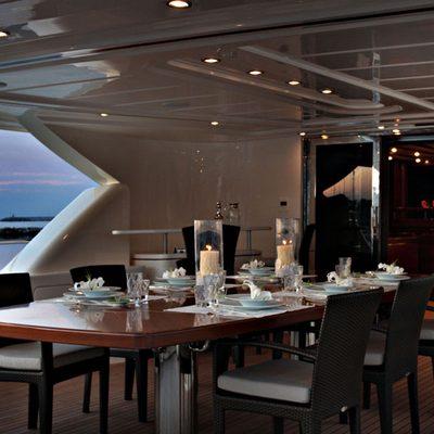 Libertas Yacht Alfresco Dining - Sunset