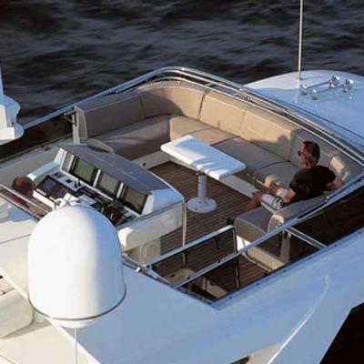 Sheleila Yacht Top deck