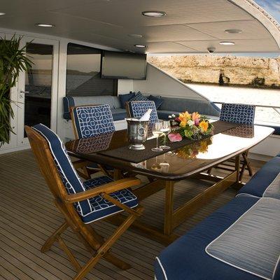 DOA Yacht Aft Deck
