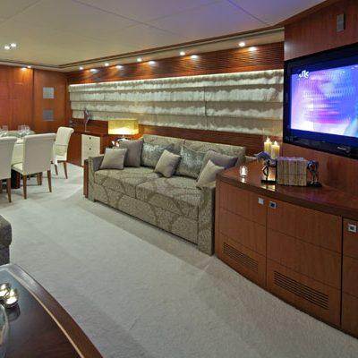 Marnaya Yacht Main Salon