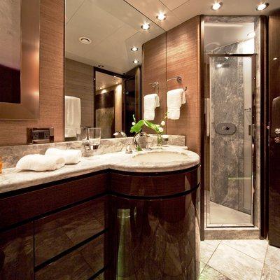 Strega Yacht Bathroom
