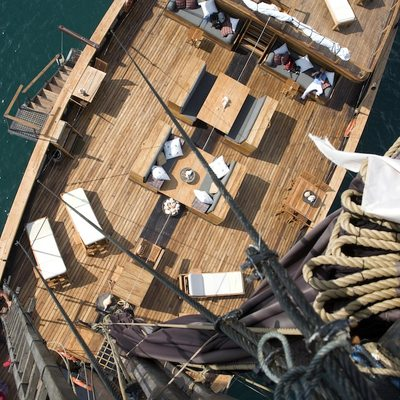 Silolona Yacht Overhead