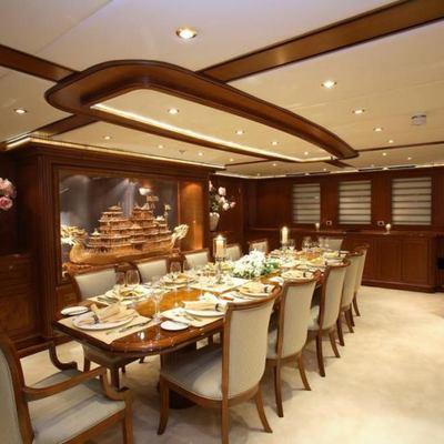 Loretta Yacht Dining Salon