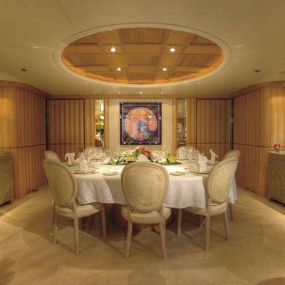 Marla Yacht Dining Area
