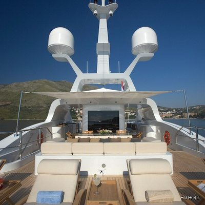 Andreas L Yacht Sundeck - Stern