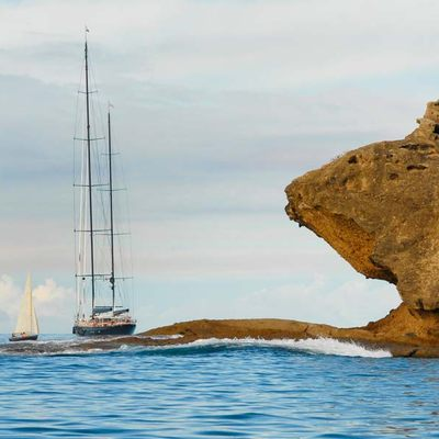 Marie Yacht Landscape