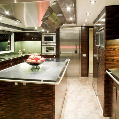 Inception Yacht Galley