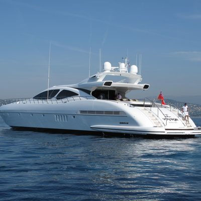 Voyage Yacht Aft View