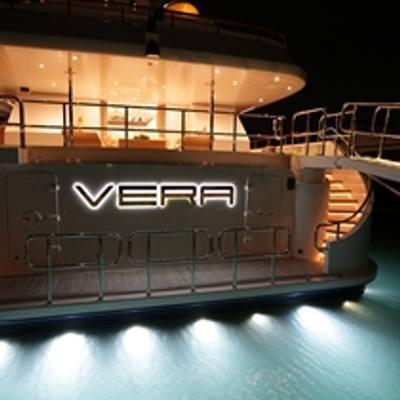 Vera Yacht Aft View