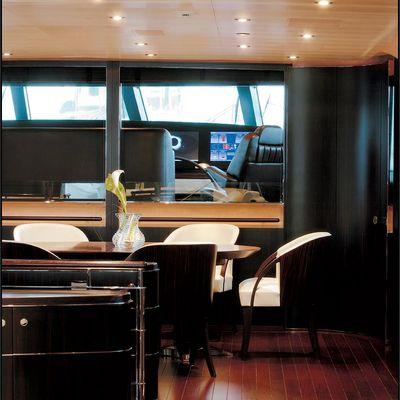 Parsifal III Yacht Salon - Detail