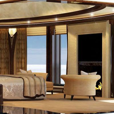 Kismet Yacht Owner's Suite