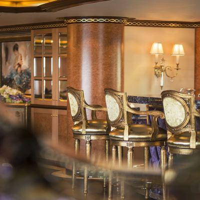 Solandge Yacht Interior Bar