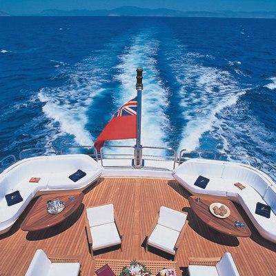 Lou Spirit Yacht Wake