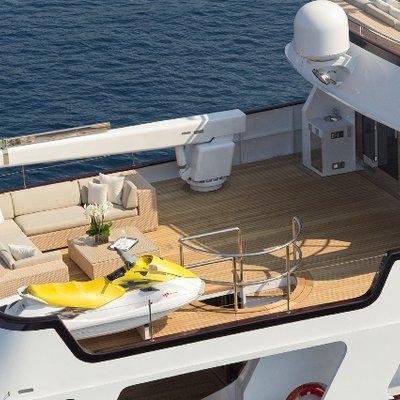 Callista Yacht Upper Deck