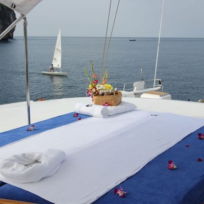 Douce France Yacht Aft Deck Massage