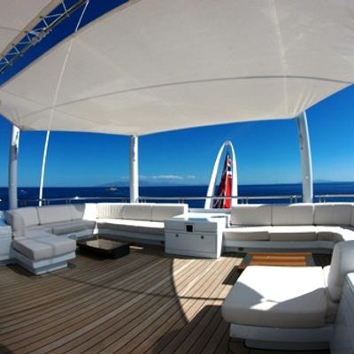 Siren Yacht Sundeck - Seating
