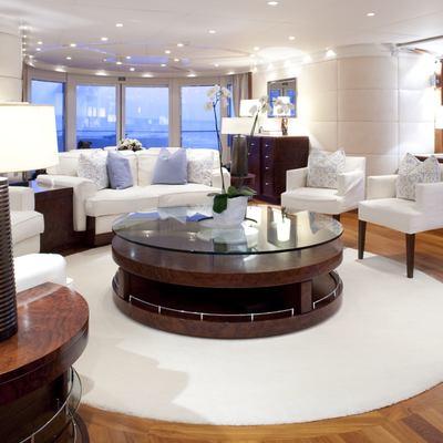 La Tania Yacht Main Saloon