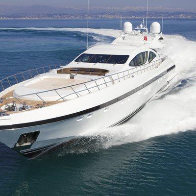 Veni Vidi Vici Yacht Running Shot - Front View