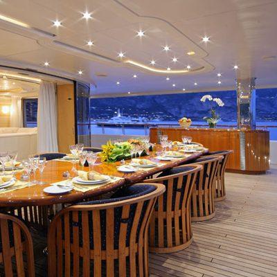 Capri I Deck Dining