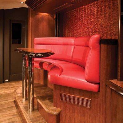 Usher Yacht Bridge Seating