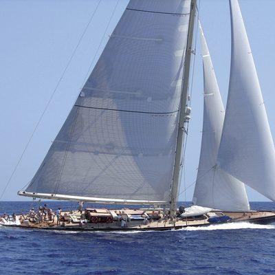 Shamrock V Sailing